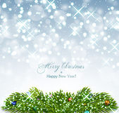 Bright Christmas background — Cтоковый вектор