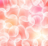 Bright pink paper with hearts — Stockvector