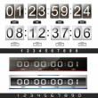 Stock Vector: Countdown timer