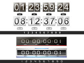 Countdown timer — Stock Vector