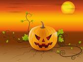 The spirit of Halloween — Stock Vector