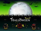 Mega patry halloween — Stock Vector