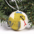 Christmas toys, balls on the Christmas tree — Stock Photo #15705407
