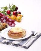 美味甜奶油面包 — 图库照片