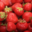 Ripe strawberries in bulk — Stock Photo