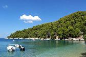 Agnontas beach, Skopelos — Stock Photo