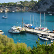 Patitiri port view, Alonissos Greece — Stock Photo