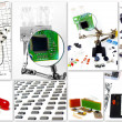 DIY electronics — Stockfoto