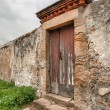 Stock Photo: Abandoned door