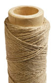 Hemp thread vertical — Stock Photo