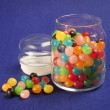 Jelly Beans Jar — Stock Photo