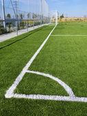 Marcatura di calcio d'angolo — Foto Stock