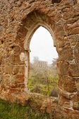 Ruined Monastery Window I — Stock Photo
