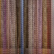 Braided Wire Hanging Curtain — Stock Photo