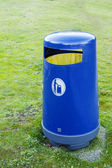 Trash for Recycling in a Park — Stock Photo