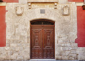 Nice Door in Historic Monument — Stock Photo