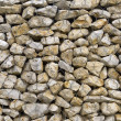 Retaining Wall Detail — Stock Photo