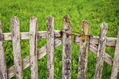 Old Wooden Gate — Stock Photo