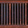 Rusty Drain — Stock Photo