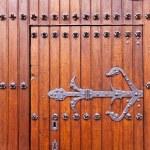 Gothic church door detail — Stock Photo #21837263