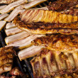 Stock Photo: Barbacue Ribs