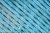 Staré modré dřevěný panel — Stock fotografie