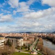 New Valladolid Skyline - Stock Photo