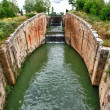 Canal de Castilla — Stock Photo