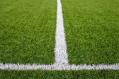 Soccer Field Lines — Stock Photo