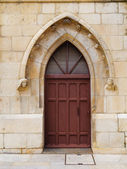 Lancet Arch Door — Stock Photo