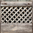 Old lattice of the window — Stock Photo #29583833