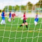 Soccer Match Selective Focus — Stock Photo #29585075