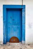 Old Blue Door — Stock Photo