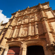 Stock Photo: University of Salamanca main facade