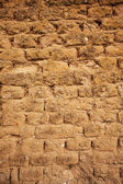 Adobe wall detail — Stock Photo