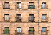 Old city architecture in Salamanca — Stock Photo