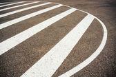 Road sign shape — Stock Photo