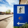 Sign of the Camino de Santiago — Stock Photo #46296669