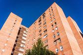 Blocks of council flats — Stock Photo