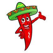 Chili Pepper — Stock Vector