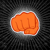 Fist — Vector de stock