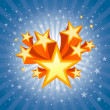 Abstract Star Burst Background — Grafika wektorowa
