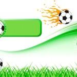 Football Design Set — Stock Vector