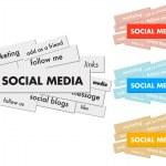 Social Media — Stock Vector #24085913