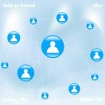 Social Media — Stock Vector #24085985