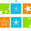 Star Set - Stock Vector