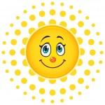 Smiling Sun — Stock Vector #24091663