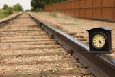Getting Time back on Track — Stock Photo