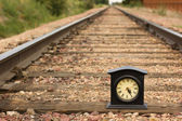 Getting time on track — Stock Photo