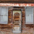 Royalty-Free Stock Photo: Old Time Grocery Door and Window